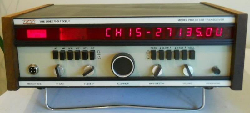 AX05 Stoner Pro 40 #322 CB Radio