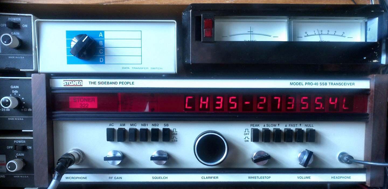 My Stoner Pro 40 #322 CB Radio | AX CB Radio Club | Alpha Xray CB ...